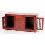 Jaipur Sideboard Solid Acacia Traditional Rustic Antique Indian Furniture
