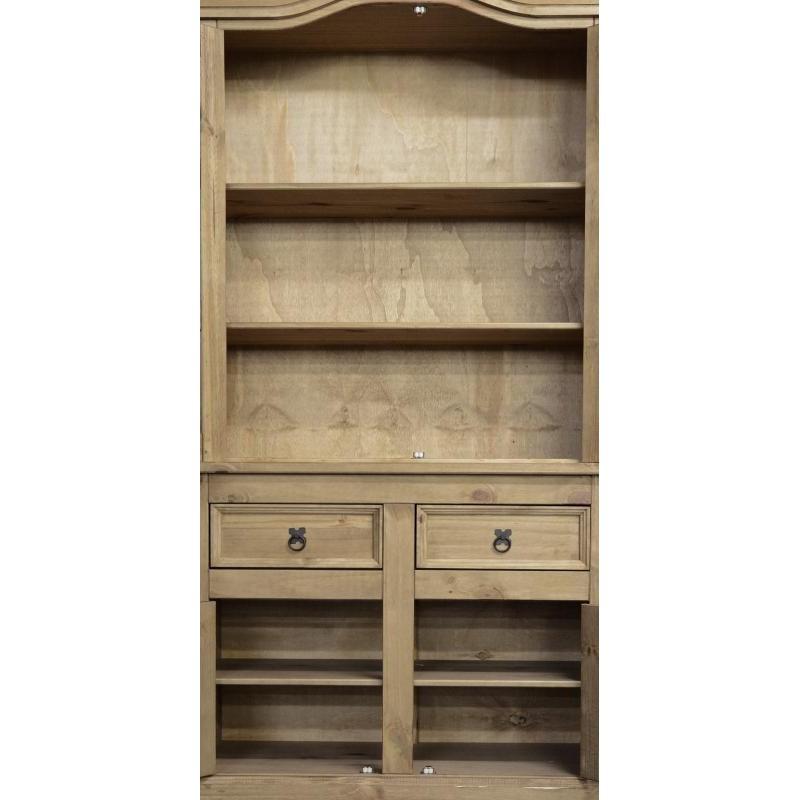 Corona Two Door Hutch With Sideboard Buffet Cupboard