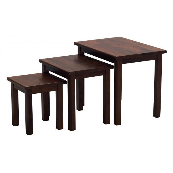 Portman Traditional Mahogany Nest of Tables