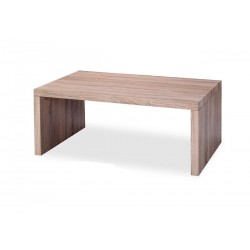 Soho Rectangle Wooden Coffee Table - Natural Finish