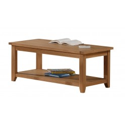 Stirling Solid Oak Coffee Table