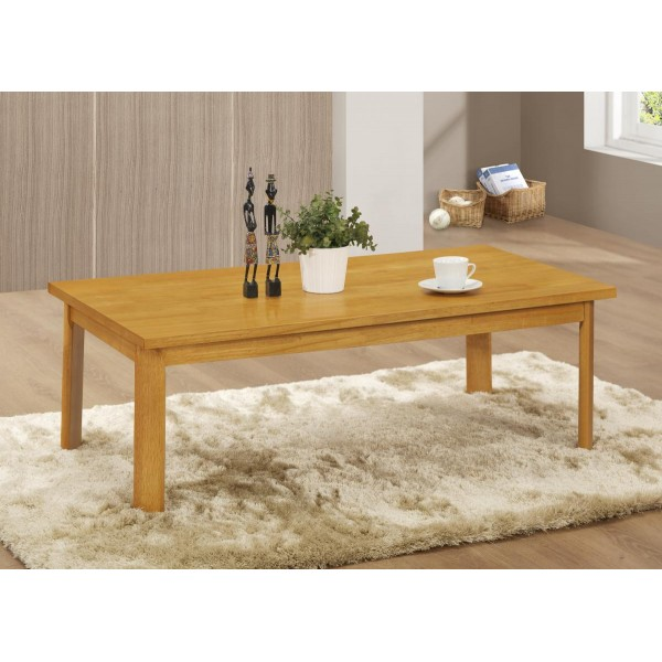 York Rectangle Wooden Coffee Table Natural Oak Finish