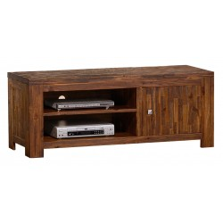 Martello Solid Acacia TV & Entertainment Cabinet with Drawers
