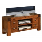 Monaco Solid Acacia TV & Entertainment Cabinet with Drawers