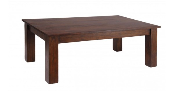 Carnival Solid Acacia Rustic Coffee Table