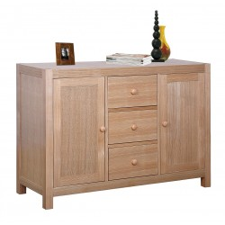 Cyprus Sideboard Cupboard Buffet Storage Solid Ashwood