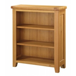 Acorn Solid Oak Small Two Shelf Bookcase Assembled