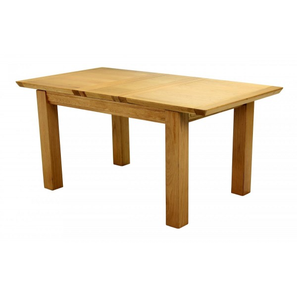 Breton Dining Table Solid Oak Extending