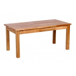 Hyde Solid Oak Rectangle Coffee Table
