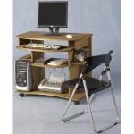 Corona Distressed Light Waxed Solid Pine Computer Desk